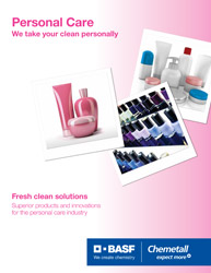 Chemetall Home, Personal Care and Cosmetics Brochure Thumbnail image